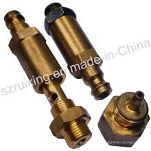 Piezas de válvulas industriales con mecanizado CNC Proceso