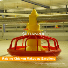 Automatic Broiler Poultry Feeding System for H Type Chicken Cage