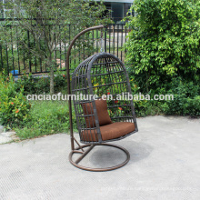 Outdoor furniture hanging iron swing chair