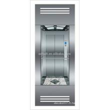 Ascenseur panoramique avec salle de machines moins de technologie japonaise