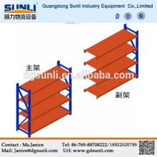 Dongguan fabricación almacenamiento ligero tienda acero Rack