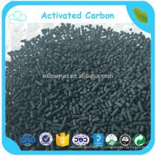 Carvão ativado aglomerado de minerais para filtração de água