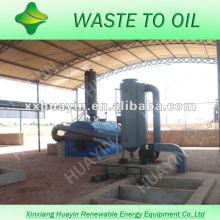 eliminación de residuos de plásticos domésticos para la máquina de combustible de petróleo