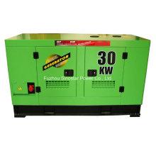 Grupo de gerador diesel à prova de som do tipo 30kw com motor de Ricardo