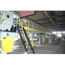 Wj-150-2000 Linha de produção de papelão ondulado de 5 camadas