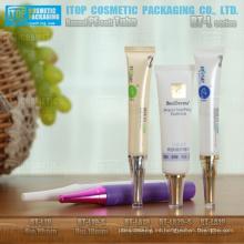 19mm y 25mm de diámetro cosméticos delicada y atractiva esencia embalaje aguja punta inserto y tubo de crema vacío tapa larga