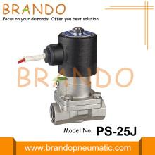1 '' Edelstahl-Dampfmagnetventil PS-25J 24VDC
