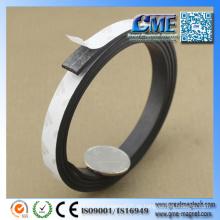Klebrige Magnetstreifen-Rolle der Magnetstreifen-Rolle des Magneten