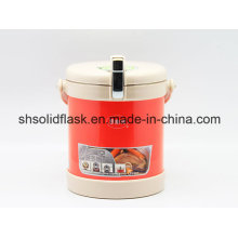 Fiambrera termográfica Svj-2200A del tarro del alimento 18/8 del acero inoxidable