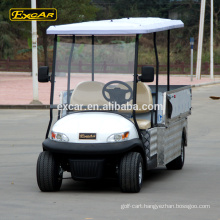 Aluminum 48V Electric utility Cart 2 seats Electric buggy car pickup truck