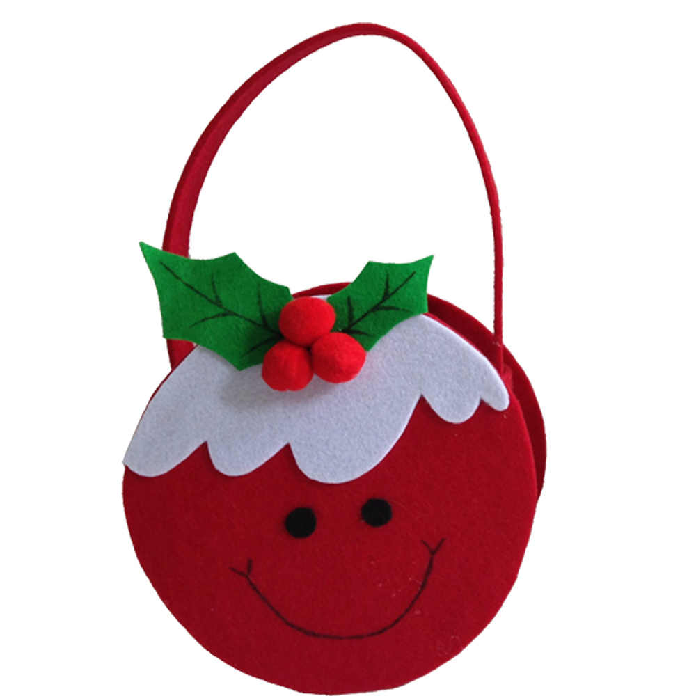 Christmas Pudding Shape Candy Bag