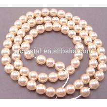 Стеклянный комплект ювелирных изделий перлы, платя стеклянные перлы платья