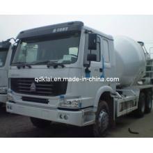 Carro del mezclador concreto de la capacidad de Sinotruck HOWO 6X4 9cbm