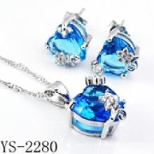 Venta al por mayor de 925 joyas de plata (YS-2280, YS-2281, YS-2288, YS-2279, YS-2283, YS-2286)