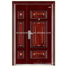 Стальная безопасности дверь одной и половину двери/мать и сын KKD-520B из Китая завод