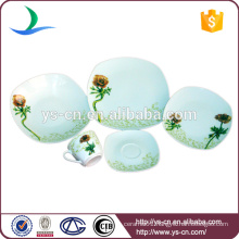 Square Exquisite Plate for Home Porcelain