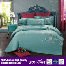 Embroidery Design Egyptian Cotton Bed Linen Bedding Set