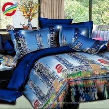 sistemas de la hoja de cama del estilo moderno de la impresión 3d al por mayor fijados