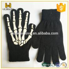 Kundenspezifische neue Druck gestrickt Mode Winter Handschuhe für Männer