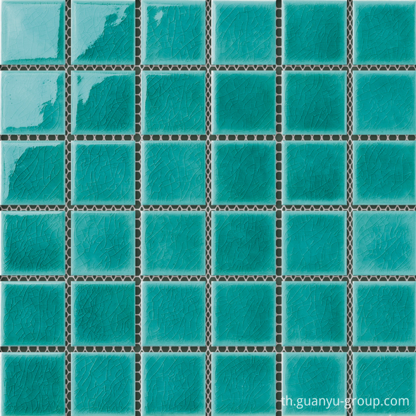 48x48 Swimming Pool Porcelain Mosaic