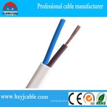 Низковольтный кабель - плоская двухслойная оболочка Типы электрических кабелей