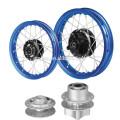 rueda de moto para la venta con el eje