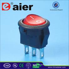 Round Button 250v Rocker Switch T85