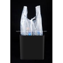Sacolas de compras de baixo preço transparentes e flexíveis
