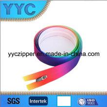 Especial coloridos 3 # cremallera de nylon Eco-Friendly Zipper