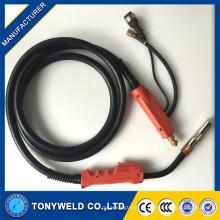 P500A mig / mag / tocha de soldagem de CO2 3M / 4M / 5M com alça vermelha