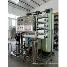 Máquina de osmose reversa de tratamento de água para purificador de água pura
