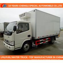 Caminhão refrigerador Dongfeng Freezer Van Caminhão 4X2 refrigerado Caminhão