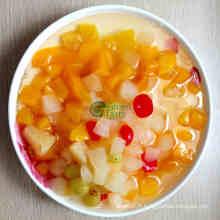 Cocktail de fruits mélangés en conserve de haute qualité