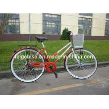 "Europe City Bicycle Rear 7sp 28"" Woman Bike (CB-025)"