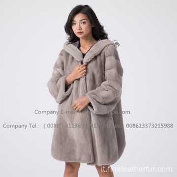 Lady Kopenhagen Mink Fur Coat