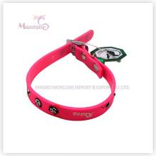 Coleiras de cão de estimação do silicone dos acessórios dos produtos do animal de estimação de 1 * 30cm 12g