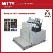 Machine de gaufrage holographique à étiquettes automatiques