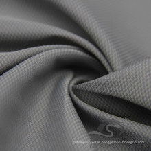 Water & Wind-Resistant Outdoor Sportswear Down Jacket Woven Phantom Plaid & DOT Jacquard 38.5% Nylon + 61.5% Polyester Fabric (NJ045)