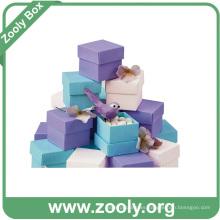 Varios Colores Pequeños Papel De Regalo Caja De Cartón