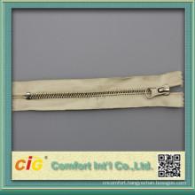 100% cotton tape #5 brass zipper