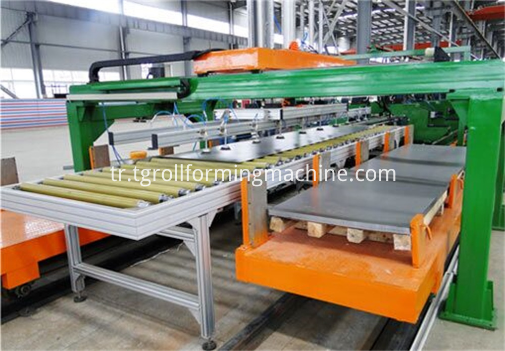 Refrigerator U Profile Sidewall Cold Roll Forming Machine