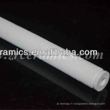tube de filetage en céramique de cordiérite