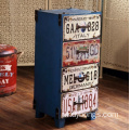 Living room Industrial Style Decorative shabby wood cabinet