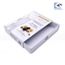 High quality color printed cardboard drawer box for necktie