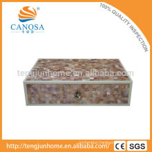 CPN-AB Natural Crafts Pink Shell Accessory Box for Hotel Amenity