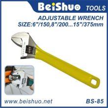 Forjando chave ajustável com cabo de borracha