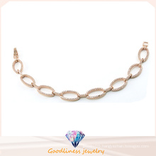 Fashion Jewelry for Women Bracelet Silver Rose Gold Plated Bangles Sterling Silver Jewelry for Lady Bt6601