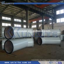 Presión hign y tubo de derivación con bridas (USB040)