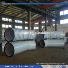 hign pressure y branch pipe with flanges (USB040)