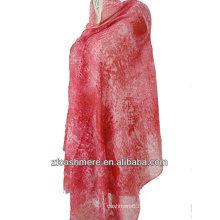 châle imprimé en soie cachemire